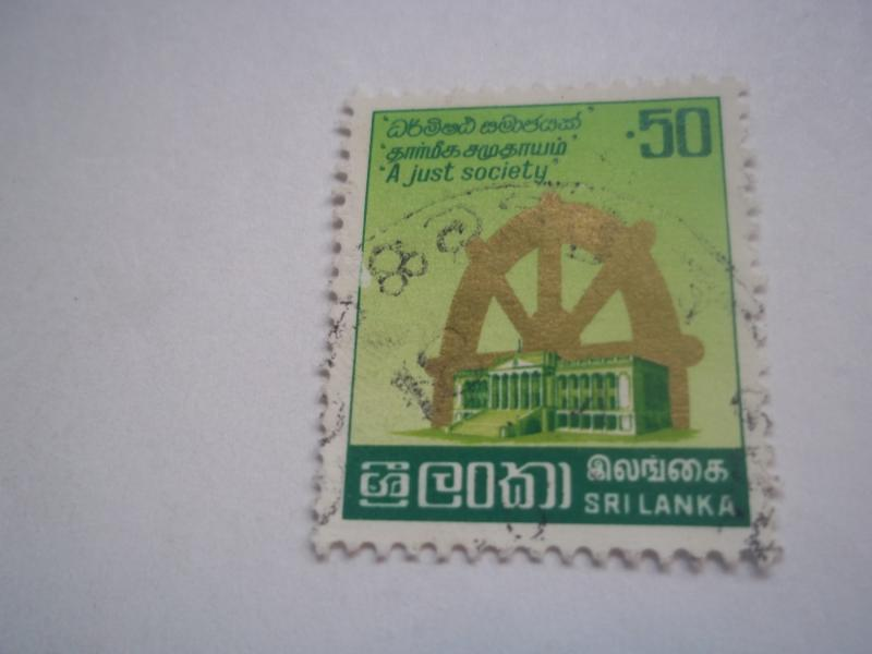 Sri Lanka # 611  (Used)1981 /CV$.25