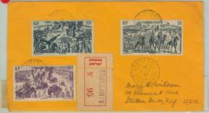 77360 - GUADELUPE - POSTAL HISTORY -  Registered COVER from BUILLANT C1947