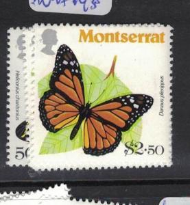 Montserrat Butterfly SC 441-4 MNH (1dpn)
