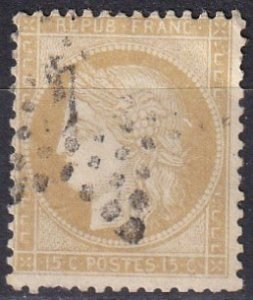 France #56  F-VF Used CV $4.50 (Z1600)