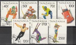 Tanzania #1201-7 F-VF Used CV $4.50 (S1111)