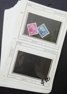 EDW1949SELL : PORTUGAL Nice collection of ALL VF USED CPLT SETS. Scott Cat $150.