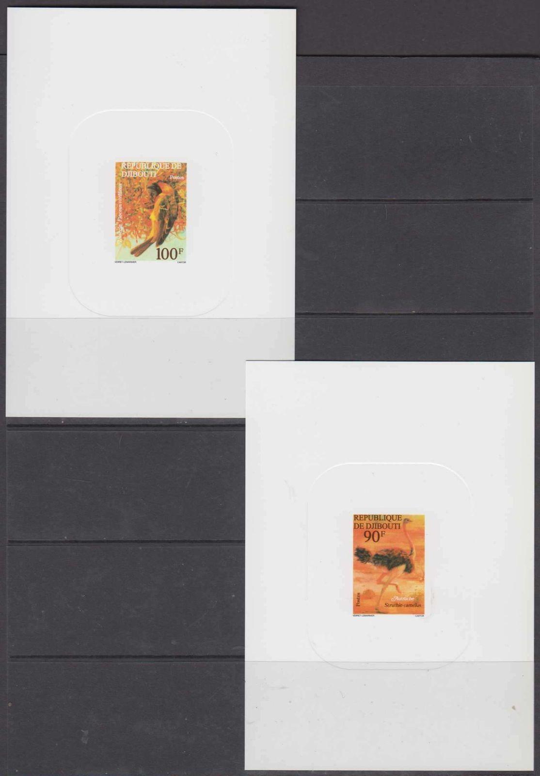 Briefmarken Z08 Imperf Djb16516d Djibouti 2016 Pigeons Mnh ** Postfrisch Dschibuti