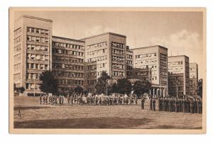 WWII APO 757 European Command Headquarters Frankfort Germany