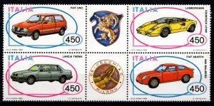 Italy 1985 Italian Motor Industry Set [Mint]