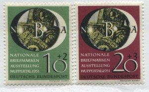 Germany 1951 Semi-Postals mint o.g. hinged