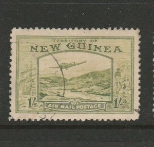 New Guinea 1939 Air 1/- FU SG 221