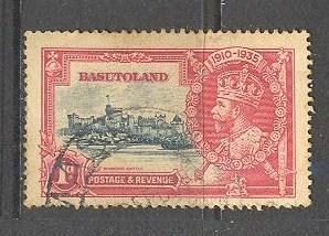 BASUTOLAND Sc# 11 USED F Windsor Castle