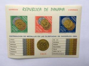 Panama 1964 Olympic Games Innsbruck Perf. Imperf Mint