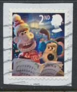 GB  SG 3128 SC# 2849a  Christmas  2010 Wallace & Gromit Used