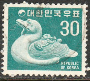 KOREA 648, CERAMIC DUCK. USED. VF (571)