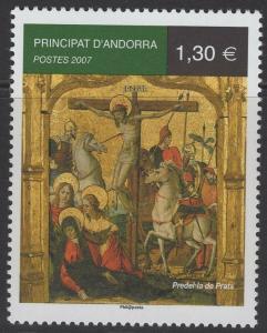 ANDORRA SGF675 2007 PREDEL LA DE PRATS(MASTER OF CANILLO) MNH