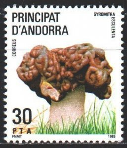 Andorra. 1985. 184. Mushrooms. MLH.