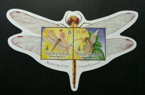 Pitcairn Islands Wondering Glider Dragonfly 2009 Insect (ms) MNH *odd *unusual