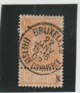 Belgium  Scott#  73  Used  (1900 King Leopold)