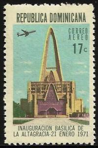 Dominican Republic Air Mail 1971 Scott# C184 MNH