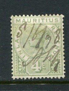 Mauritius 4c Revenue Forbin #4 Used
