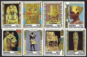 Central African Republic 349-356 MNH K382