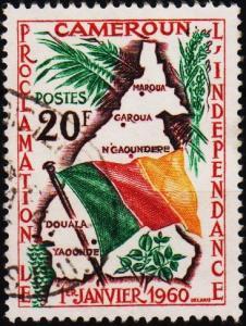 Cameroun. 1960 20f. S.G.276 Fine Used