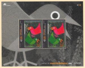 PORTUGAL-AZORES Sc#473a Souvenir Sheet MINT NEVER HINGED