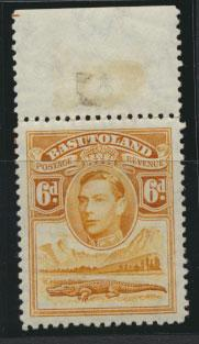Basutoland SG 24 Mint Never Hinged (margin hinged)