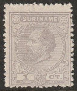 Suriname 1875 Sc 1 MNG(*) small thins