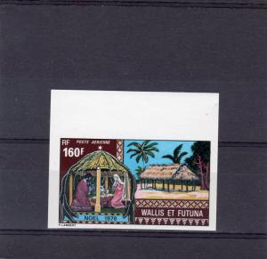 Wallis and Futuna Islands 1978 Sc#C83 Christmas (1) IMPERFORATED MNH VF