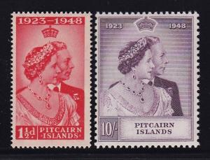 Pitcairn Island Scott # 11 - 12 VF-OG mint never hinged scv $ 75 ! see pic !