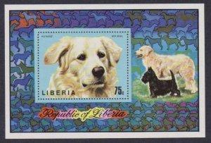 Liberia Airmail # C202 , Hungarian Sheepdog , VF OG NH S/S - I Combine S/H
