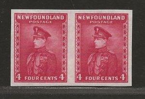 NEWFOUNDLAND  SC# 189a   IMPERF PAIR  VF/MNH