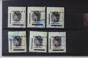 Hong Kong 1972 Provisional Contract Note Bft 399//423 $200 cv$101 DL