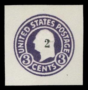 U.S. CUT SQUARES U477  Mint (ID # 82183)