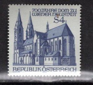 AUSTRIA 1118 MNH VF Wiener Neustadt Cathedral
