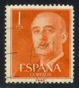Spain #825 Gen. Francisco Franco, used (0.25)
