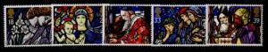 Great Britain 1468-72 MNH Christmas, Stained Glass, Art