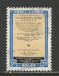 Peru    #C249  Used  (1969)  c.v. $0.30