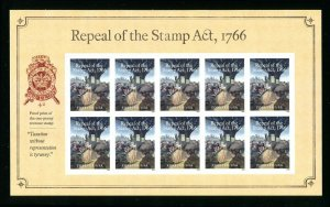 5064 Repeal of the Stamp Act 776 Stamp Sheet of 10 Forever Stamps