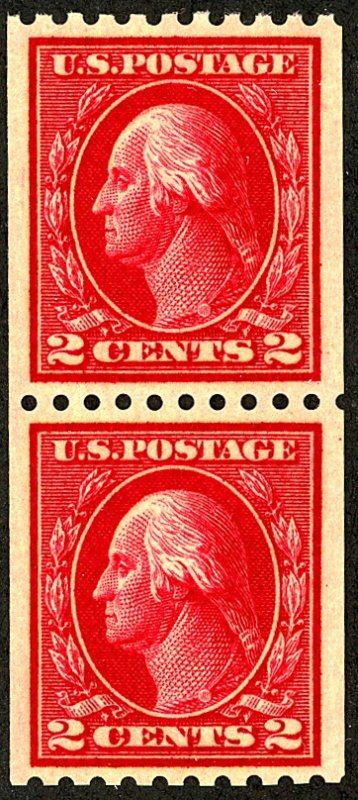 U.S. #422 MINT PAIR OG NH
