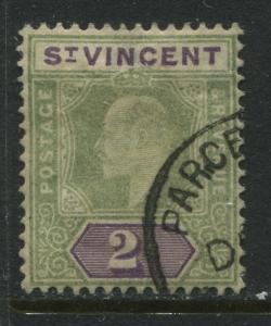 St. Vincent KEVII 1904 2/ used