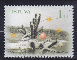 Lithuania  Scott#  780  Used