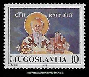 Yugoslavia Scott 1779 Mint never hinged.