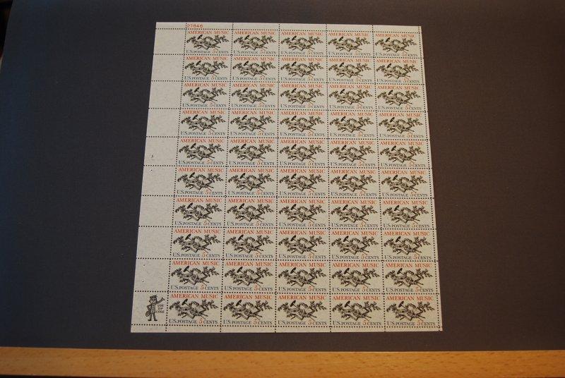 Scott #1252, Mint Sheet