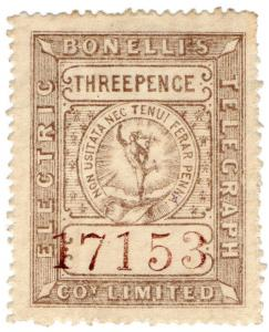 (I.B) Bonelli's Electric Telegraph Company 3d