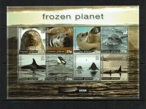 British Antarctic Territory: 2011, BBC Frozen Planet, TV Series, Sheetlet, MNH