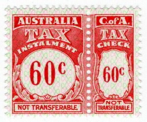 (I.B) Australia Revenue : Tax Instalment 60c