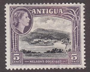 Antigua 112 Unused 1953 Nelson's Dockyard 5¢