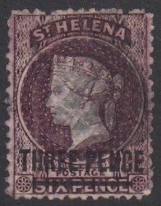 St. Helena 20 Used CV $60.00