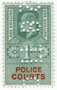 (I.B) Edward VII Revenue : Police Courts 1/-