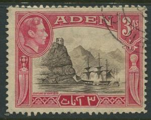 STAMP STATION PERTH Aden #22 KGVI Definitive Issue 1939 Used CV$0.25.