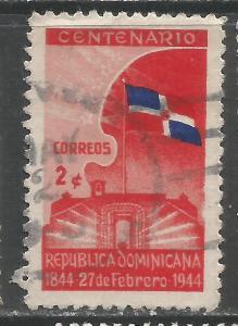 DOMINICAN REPUBLIC 400 VFU FLAG Z2605-1